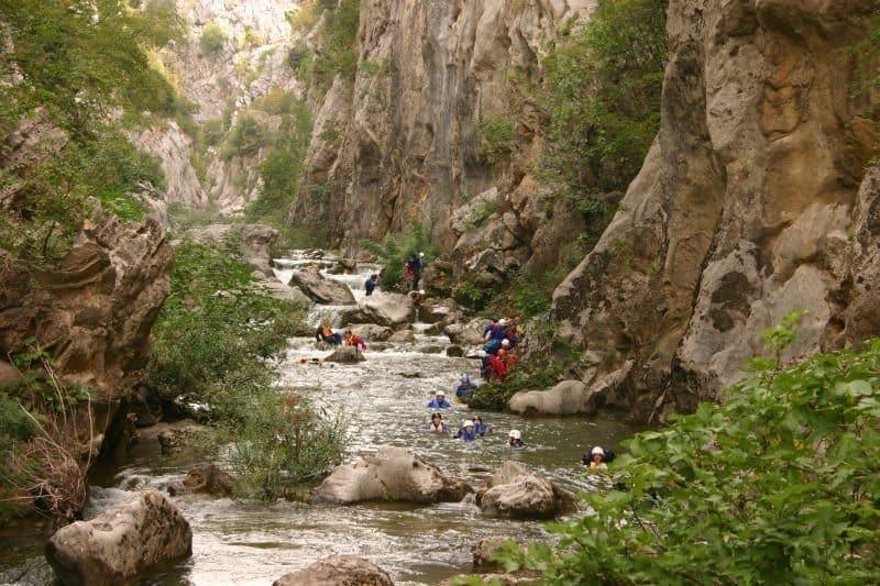 Activity Holiday in Croatia - Canyoning