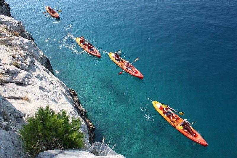 Activity Holiday in Croatia - Sea Kayaking