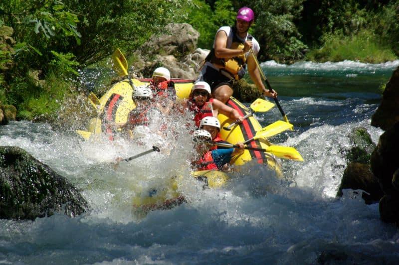 Activity Holiday in Croatia - Rafting