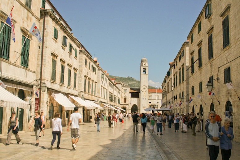 Google streetview launches in Croatia - Dubrovnik's Stradun