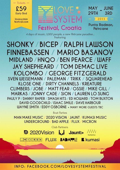 Love System Festival, Petrcane, Croatia