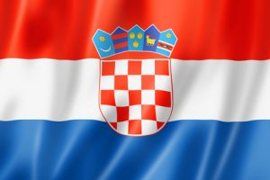 Croatian flag and anthem