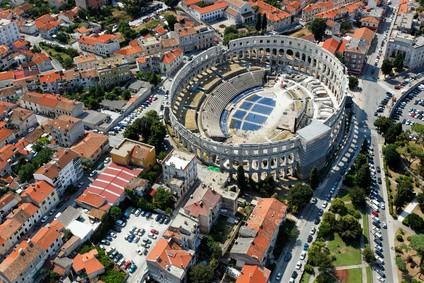 History of Croatia - Arena in Pula