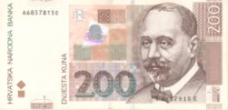 Money in Croatia - 200 Kuna Banknote