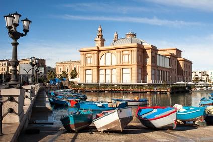 Travelling from Bari to Croatia