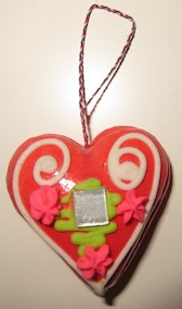 Symbols of Croatia, Licitarsko srce/gingerbread heart