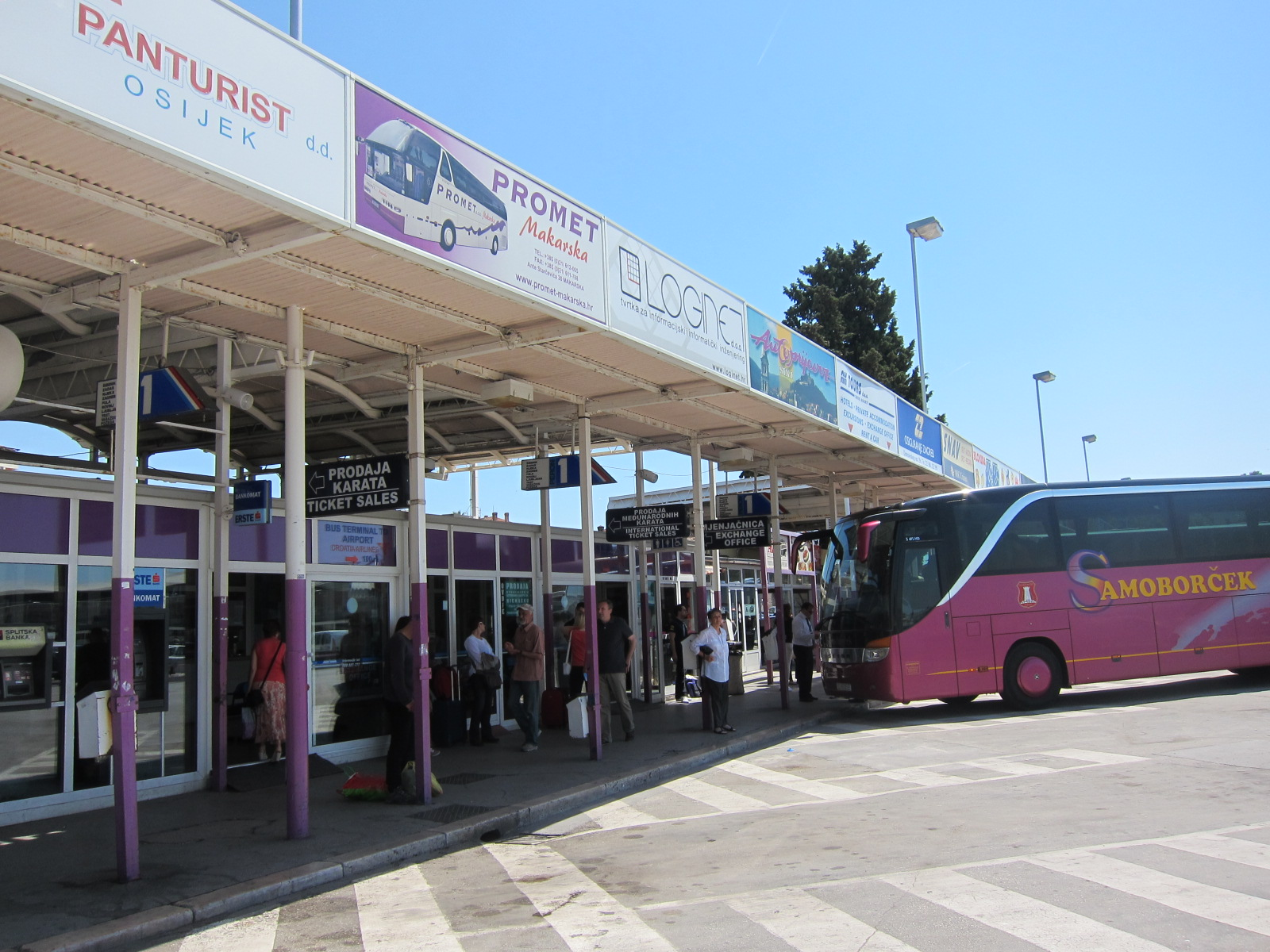 Bus Travel in Croatia