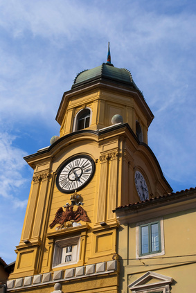 Clock Tower in Rijeka