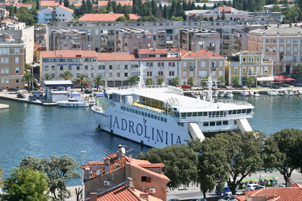 Getting to Zadar - Ferry