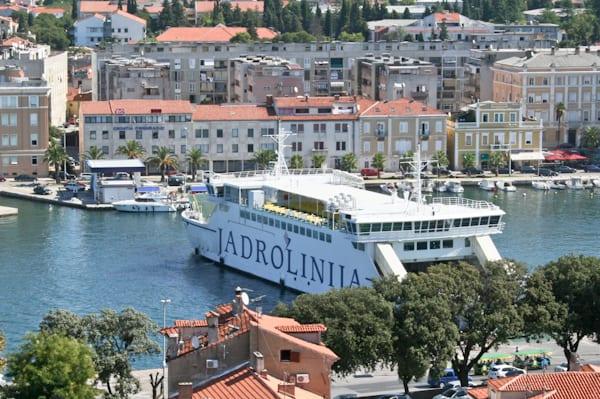 Getting to Zadar - Ferry