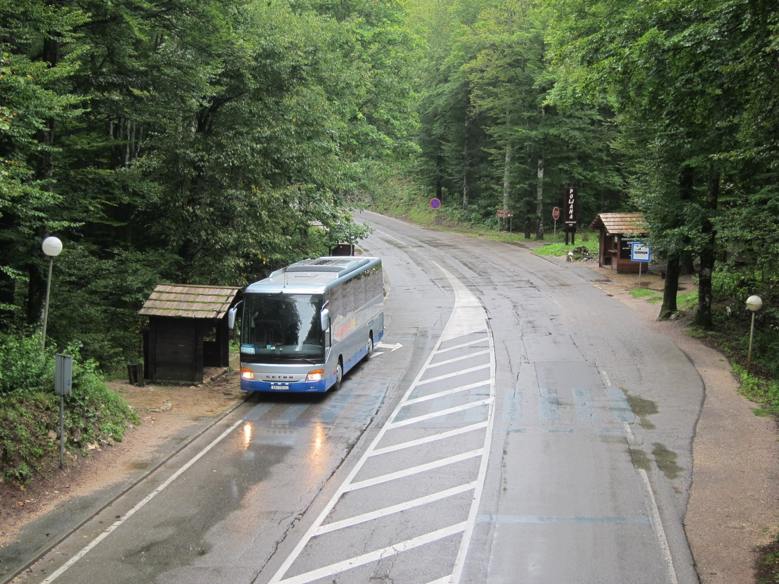 Getting to the Plitvice Lakes National Park