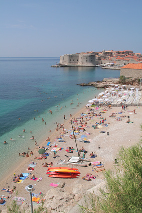 Famous Beaches in Croatia - Banje Beach