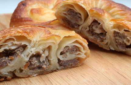 Croatian Recipes - Burek