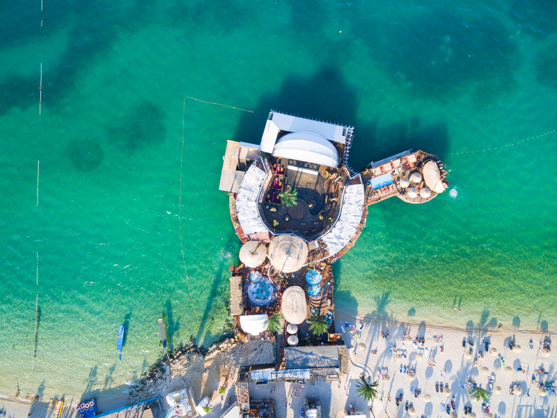 Clubs in Croatia - Noa Beach Club