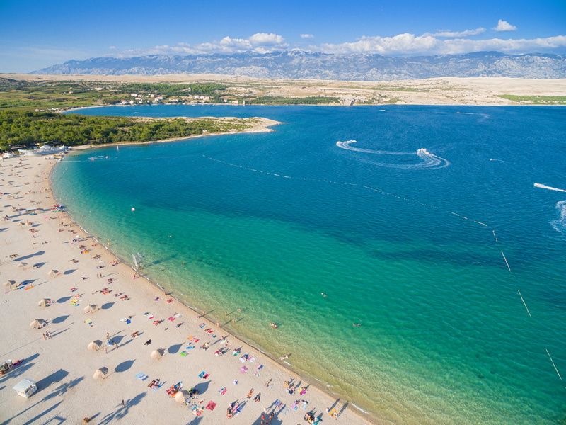 Famous Beaches in Croatia - Zrce Beach