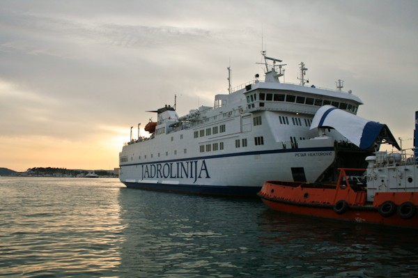 Getting to Vis - Jadrolinija Ferry