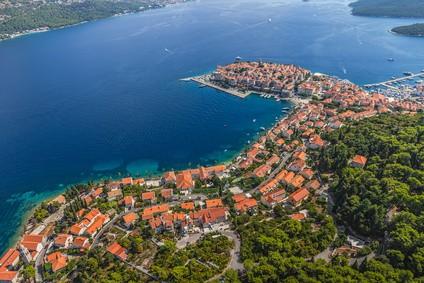 One Week in Croatia - Korcula old town