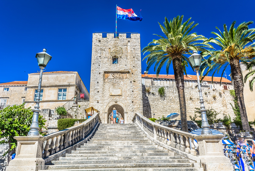 Sightseeing on Korcula - Kopnena vrata