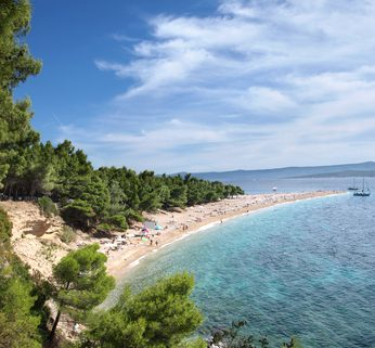 Famous Beaches in Croatia - Zlatni Rat Beach