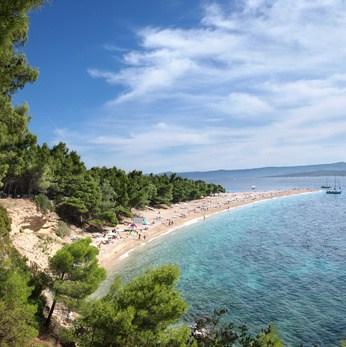 Famous Beaches in Croatia - Zlatni Rat Beach