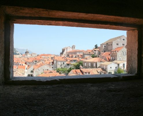 Dubrovnik Old Town Photos - Walls