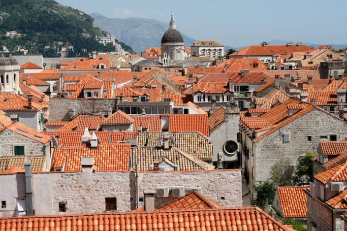 Dubrovnik Old Town Photos - Rooftops