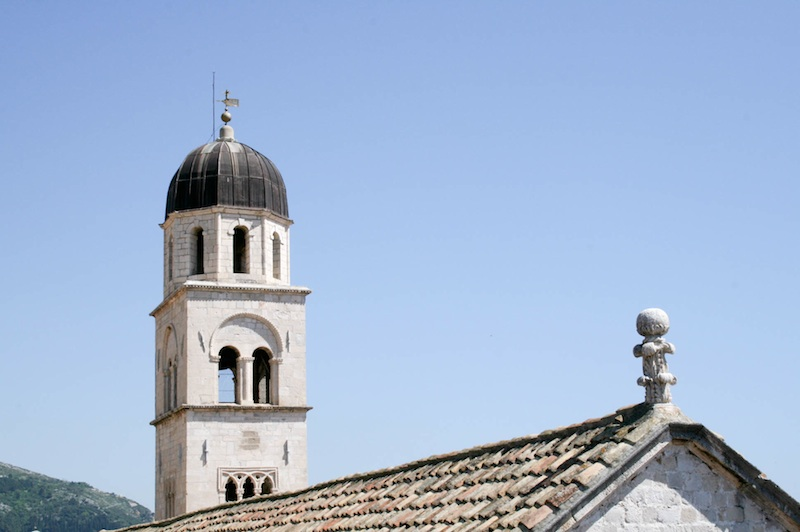 Dubrovnik old town photos visit croatia a travel guide - The house in the old franciscan tower ...