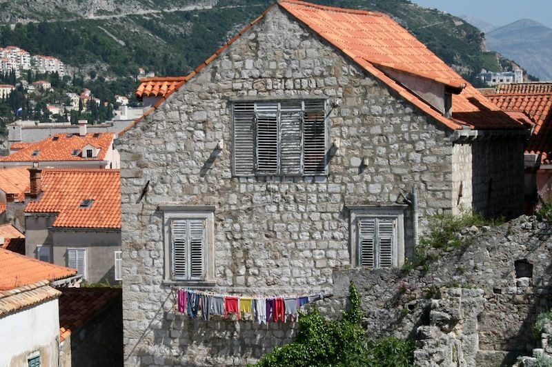 Dubrovnik Old Town Photos - Wash Day