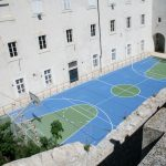 Dubrovnik Old Town Photos - Basketball court