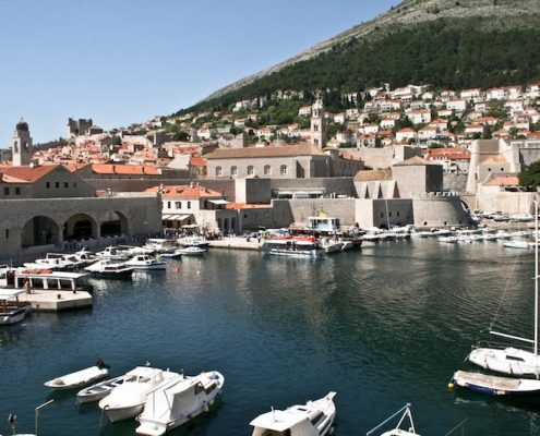 Dubrovnik Old Town Photos - Harbour