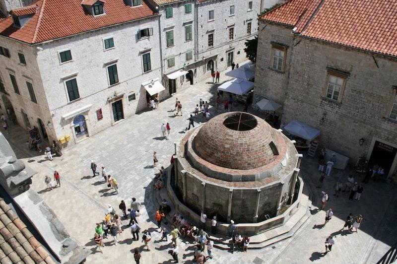 Dubrovnik Old Town Photos - Onofrio's Fountain