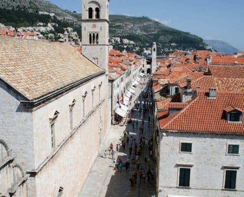 Dubrovnik Old Town Photos - Stradun
