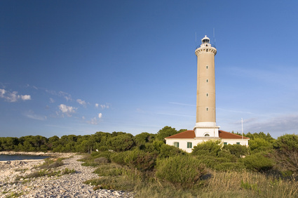 Lighthouses in Croatia