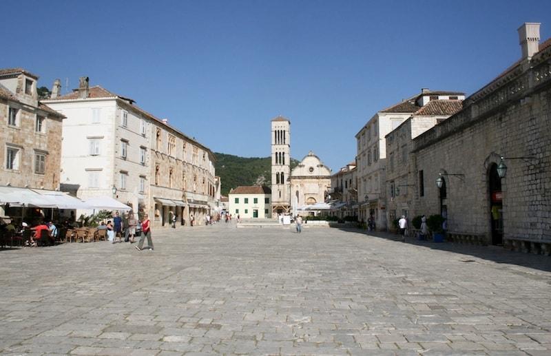 Photos of Hvar - St Stephen's Square