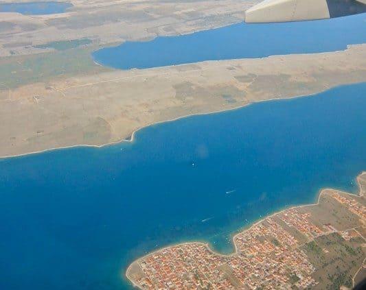 Flights to Croatia by destination airport