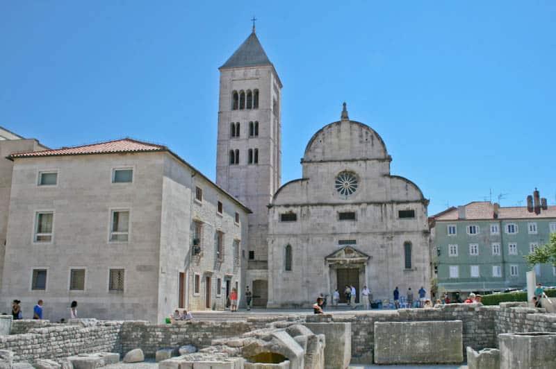 2018 Pula to Zadar catamaran