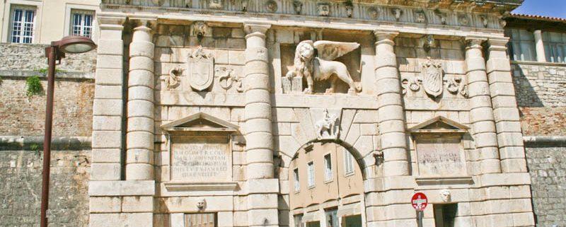 History of Zadar - Land Gate