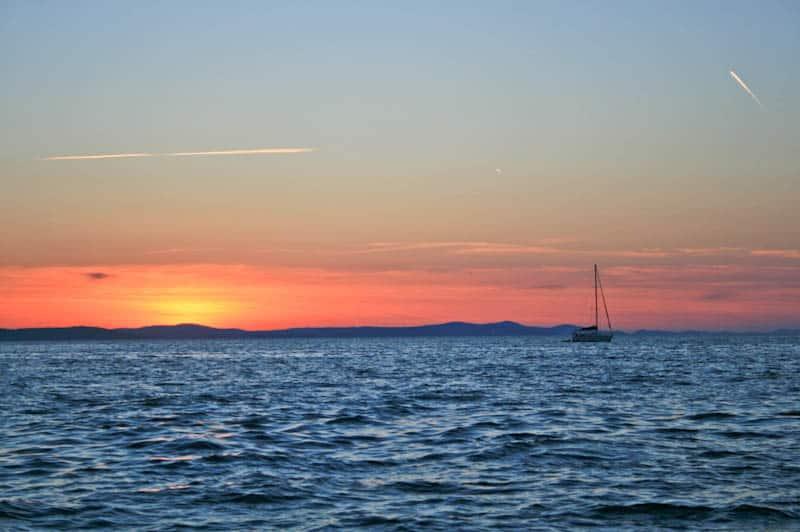 Sightseeing in Zadar - Sunset