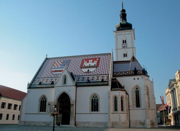 Photos of Zagreb - St Mark's Church
