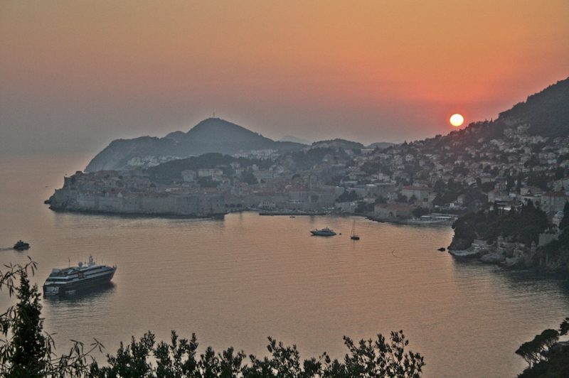 Photos of Dubrovnik - Sunset