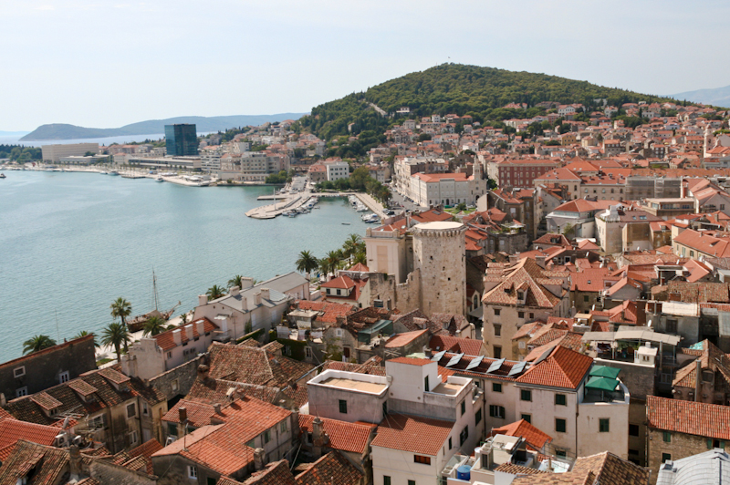 Split - View from the Belltower