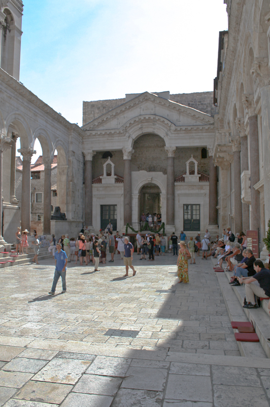 History of Split - Peristyle