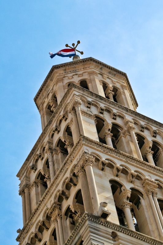 Sightseeing in Split - Belltower