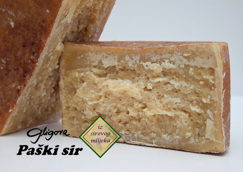 Sirana Gligora cheese - Paski sir