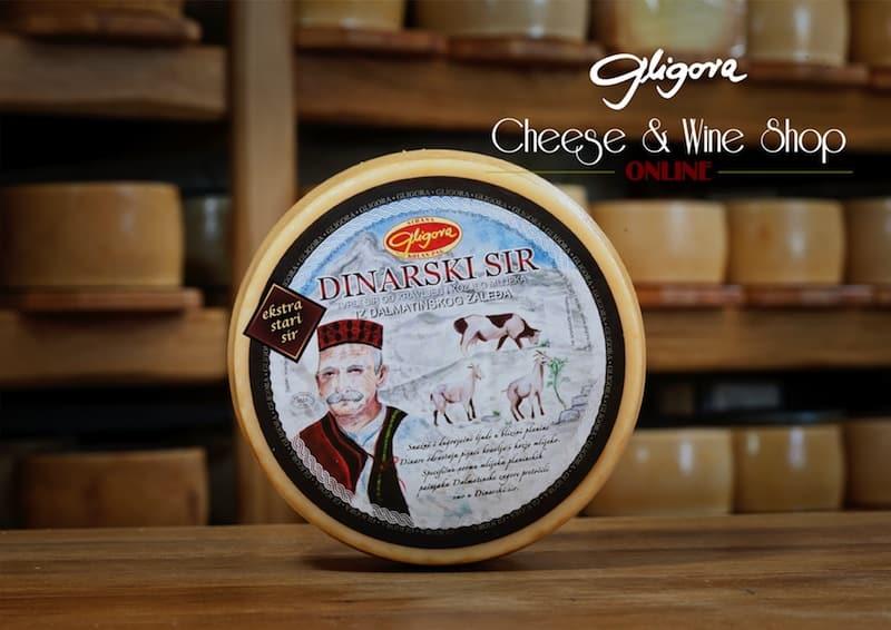 Sirana Gligora cheese - Dinarski sir