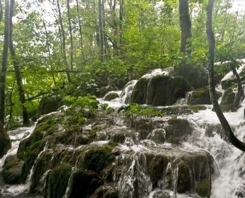 Plitvice Lakes Photos - Waterfall