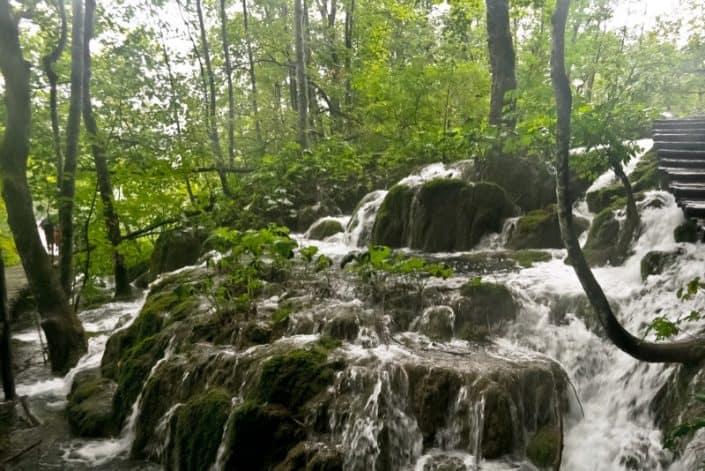 Plitvice Lakes Photos - Waterfall
