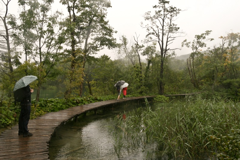 Plitvice Lakes Photos - Visitors