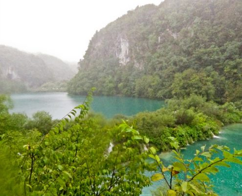 Plitvice Lakes Photos - Blue lake