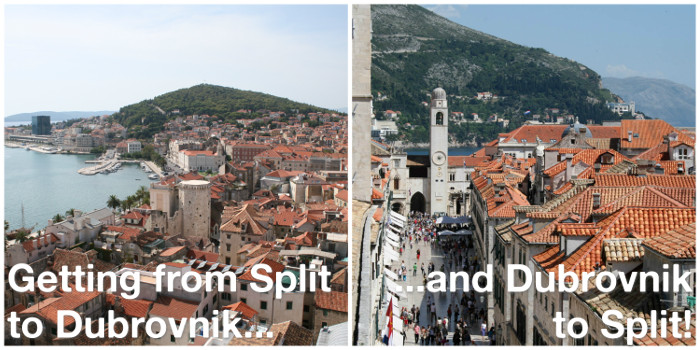 Getting from Split to Dubrovnik